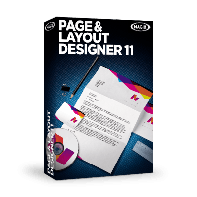 Magix page and layout designer 11